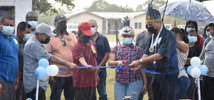 Min. Croal Commissions $20M Upgraded Water Distribution System in St. Ignatius, Reg. 9