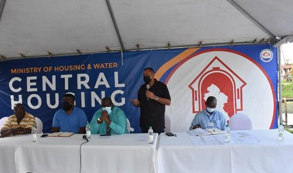 Housing Ministry/CH&PA Engages Informal Settlers at Cane View, EBD