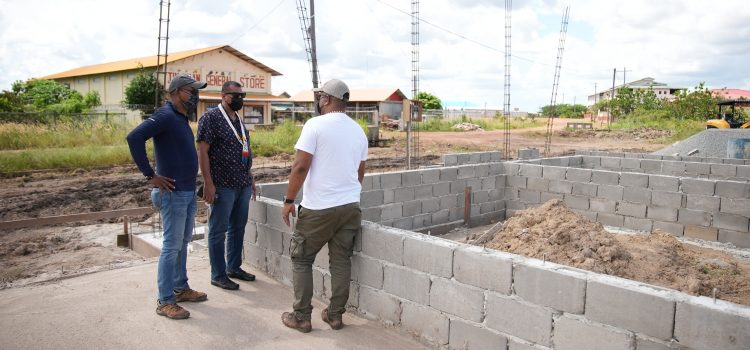 Improving Regional Services: Construction of New Housing & Water Office Commences in Lethem