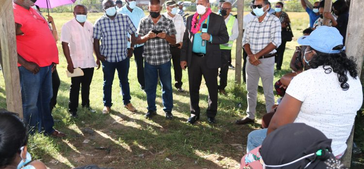 Improved Security and Road Upgrades for Hope, Region Five Residents
