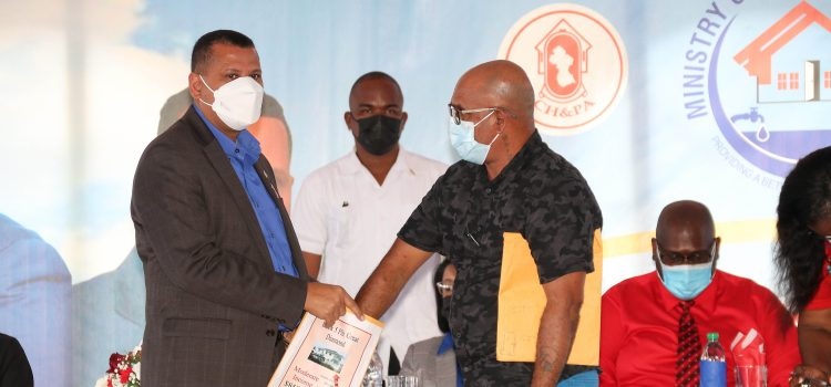 Another 1,000 House Lots Distributed on East Bank Demerara